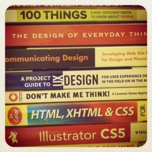 picture of UX books